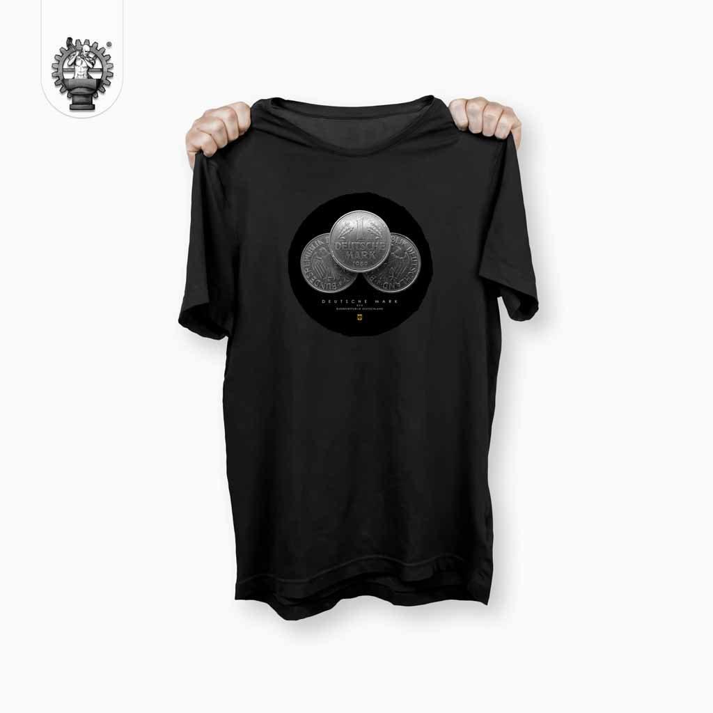 Deutsche Mark T-Shirt Schwarz