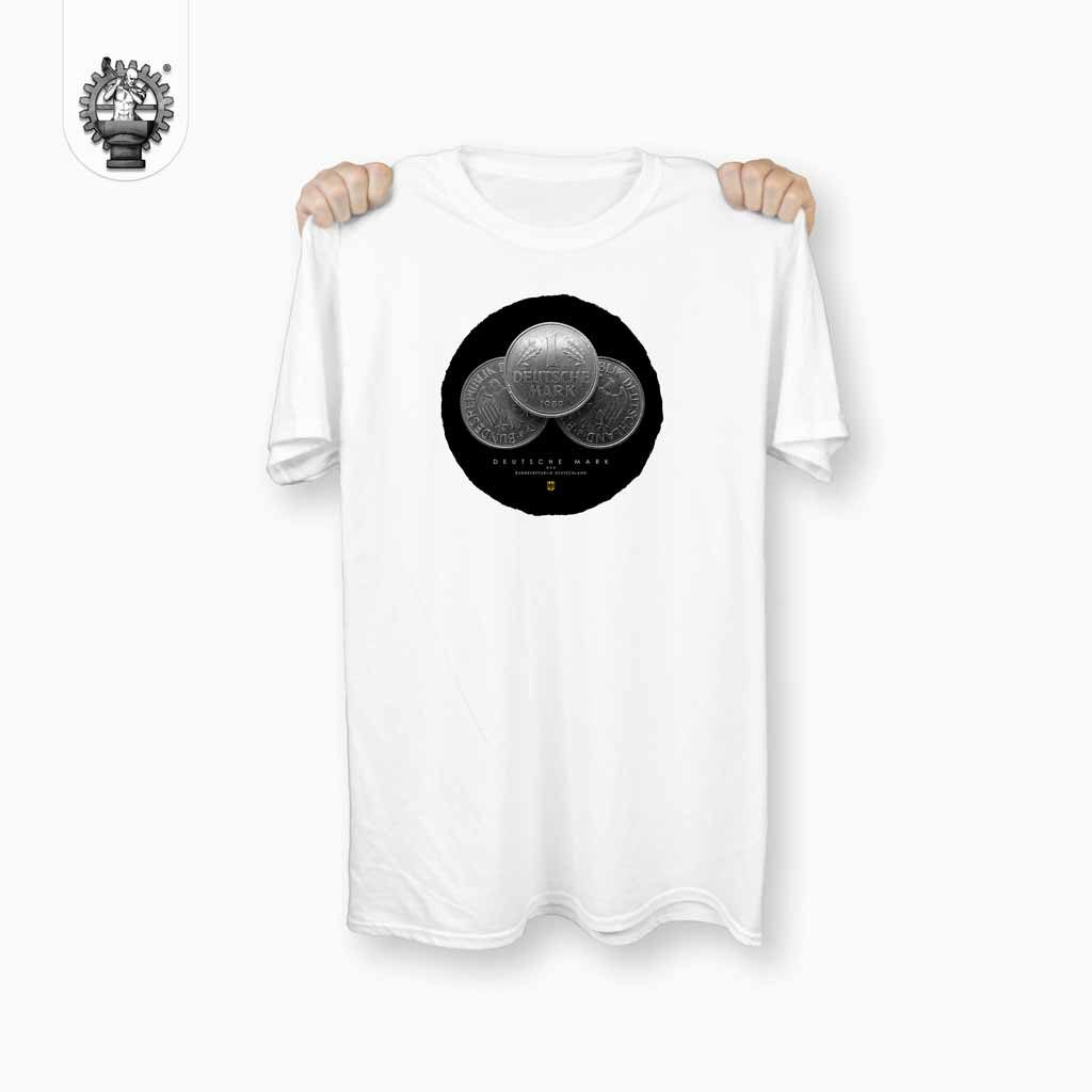 Deutsche Mark T-Shirt Weiß