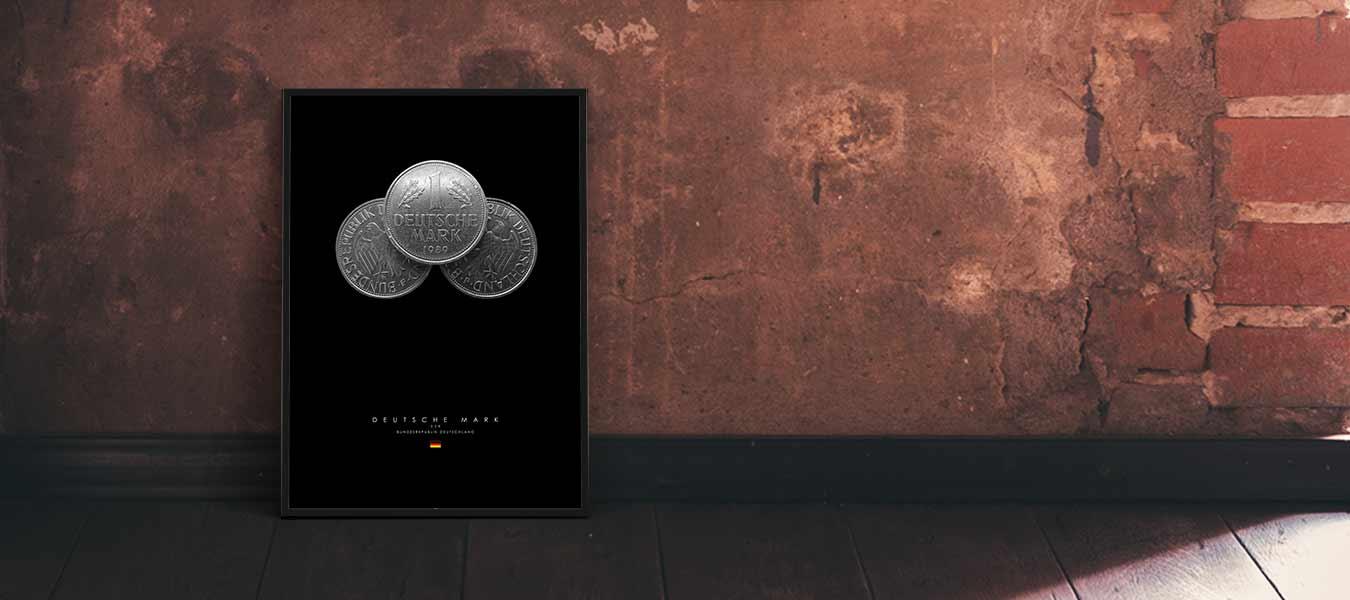 Deutsche Mark Poster Produktbild 7