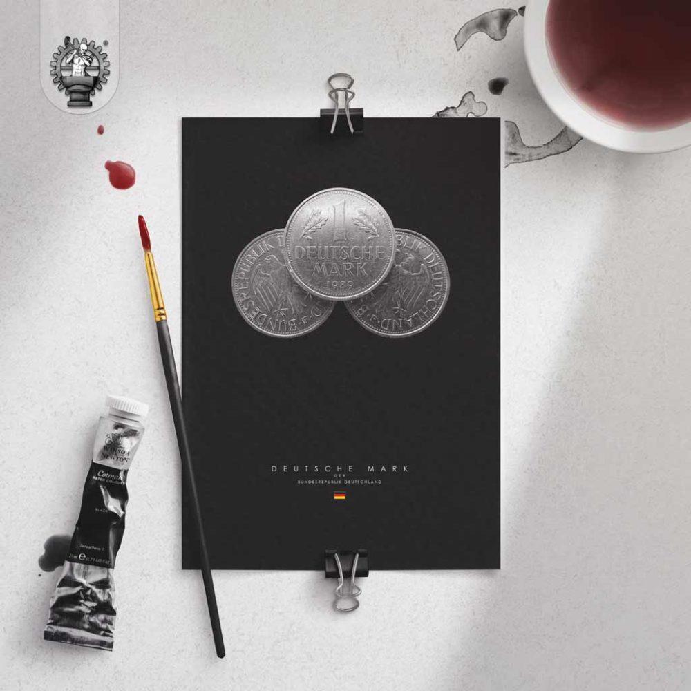 Deutsche Mark Poster Produktbild 3