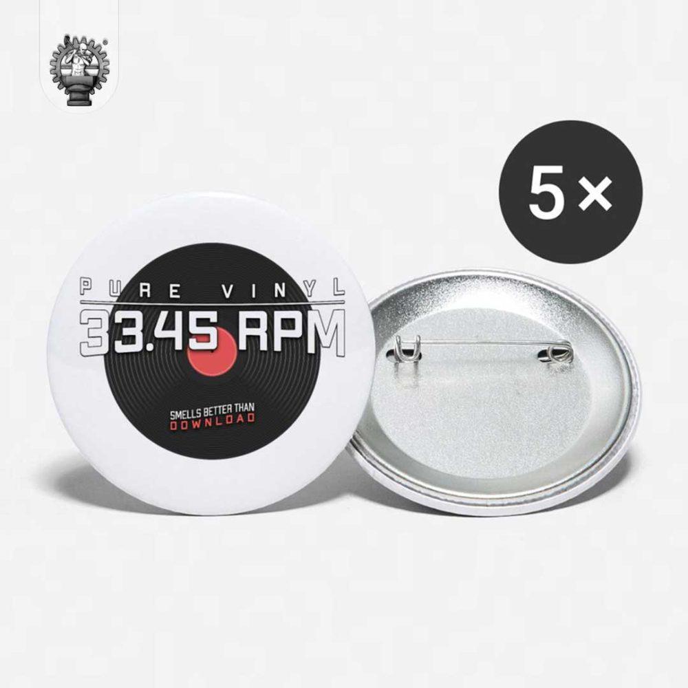 Pure Vinyl Schallplate Button-Produktbild-2