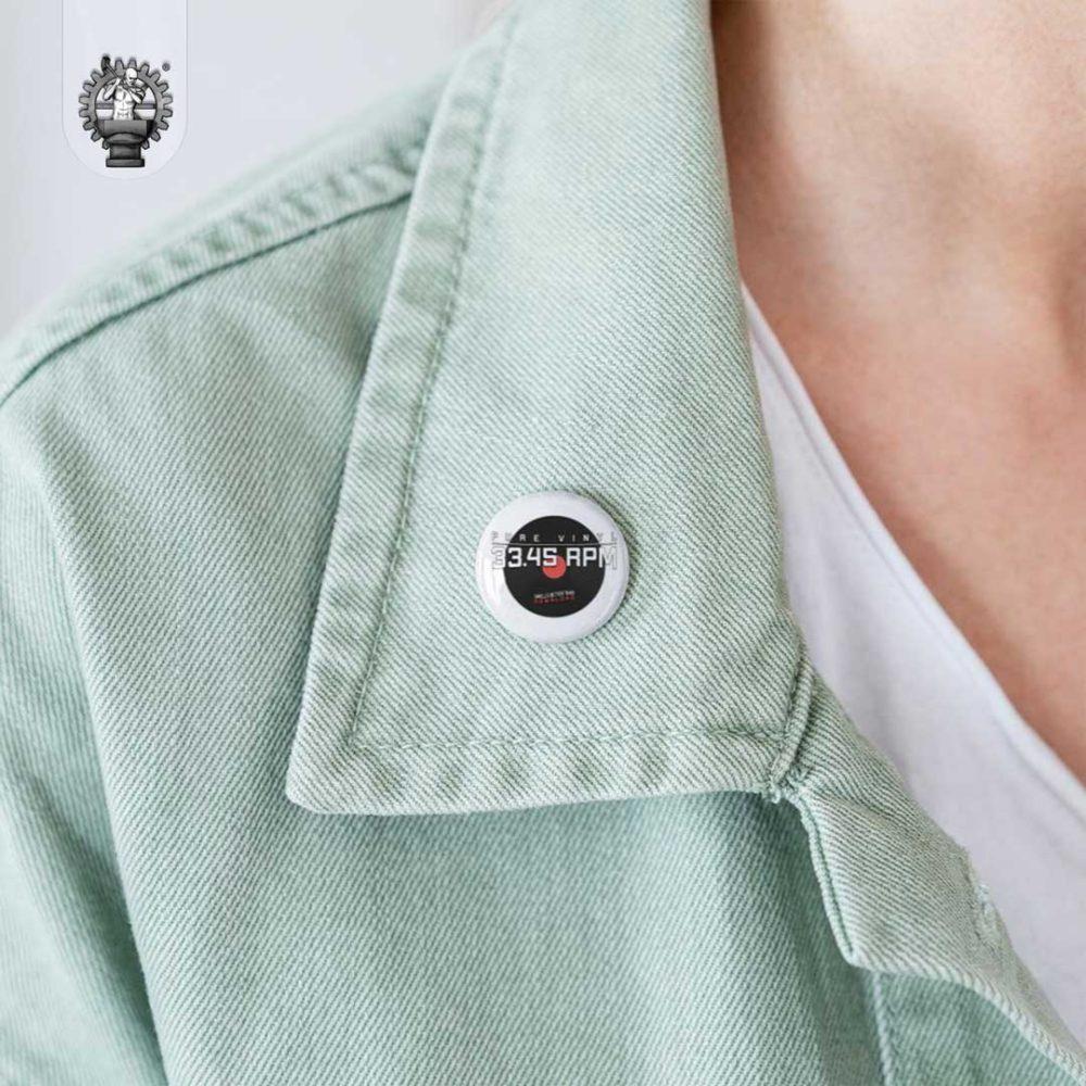 Pure Vinyl - Smells Better Than Download -Schallplate Button-Produktbild-3